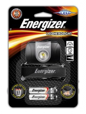 "Fejlámpa, 1 LED, 2xAAA, ENERGIZER ""Headlight Led"""